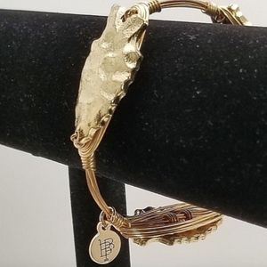 Bourbon & Bowties Wire Bangle Bracelet Arrowhead 8